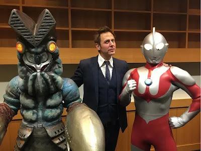 James Gunn Tweets His Excitement Over Upcoming Ultraman CGI Movie