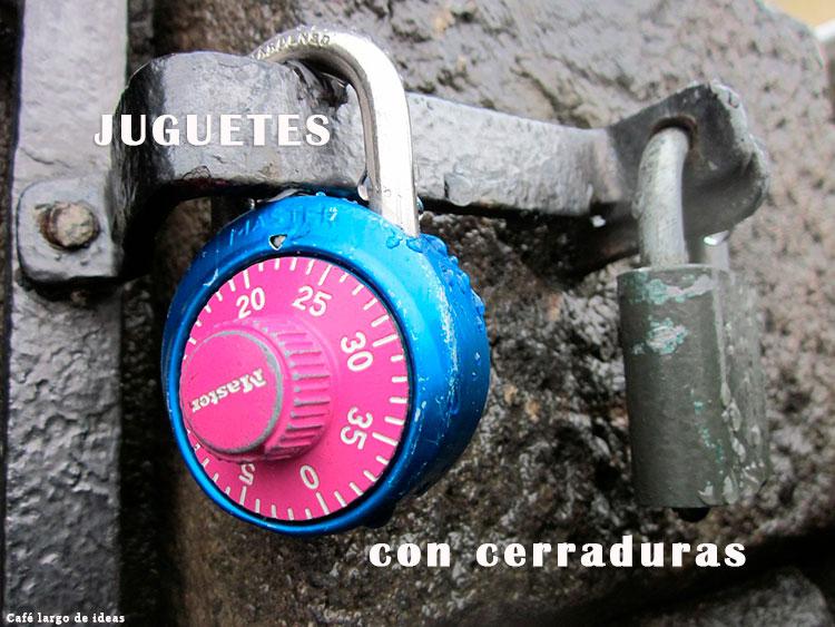 Juguetes handmade con cerraduras