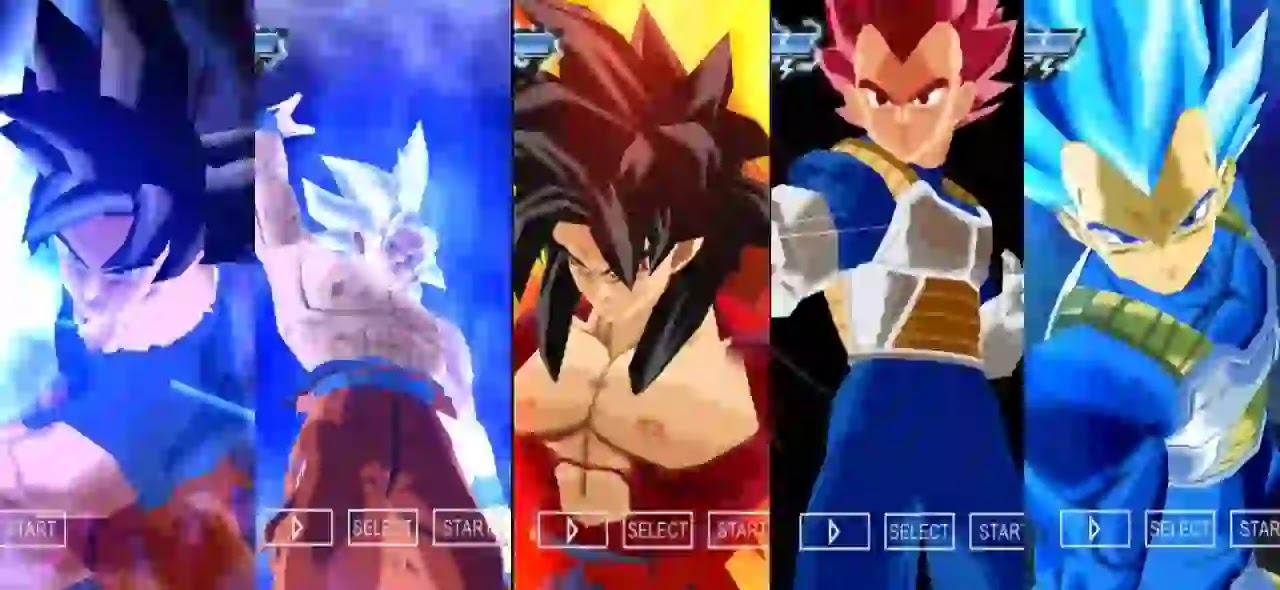Dragon Ball Super goku ultra Instinct dbz ttt mod
