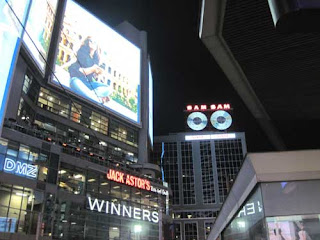 Sam's Rises To The Top Of Dundas Square.