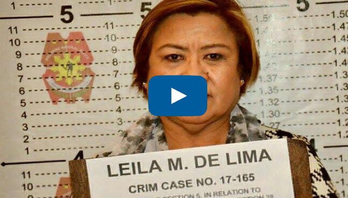 WATCH:VIRAL!  Police Take De Lima Mug Shot
