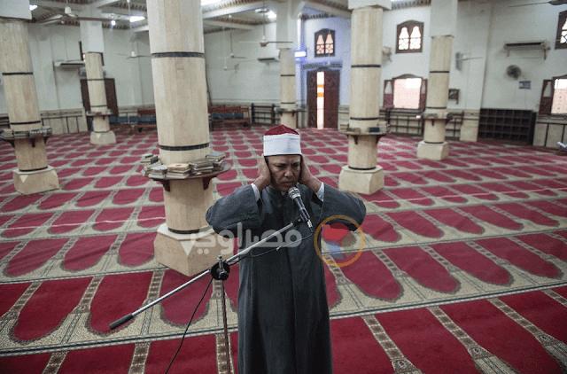 From Masrawy : Calling for Islamic prayer in time of Coronavirus