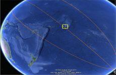 ¿Dónde cayó la estación espacial china Tiangong-1?
