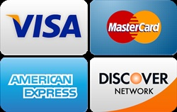 <br><br><b>We accept above major credit cards : </b>