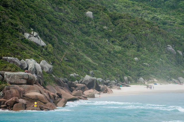 Praia da Galheta, Florianópolis, Brazilia