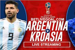Live Streaming Argentina vs Croatia 22 Juni 2018