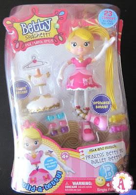 Конструктор в виде куклы Betty Spaghetty
