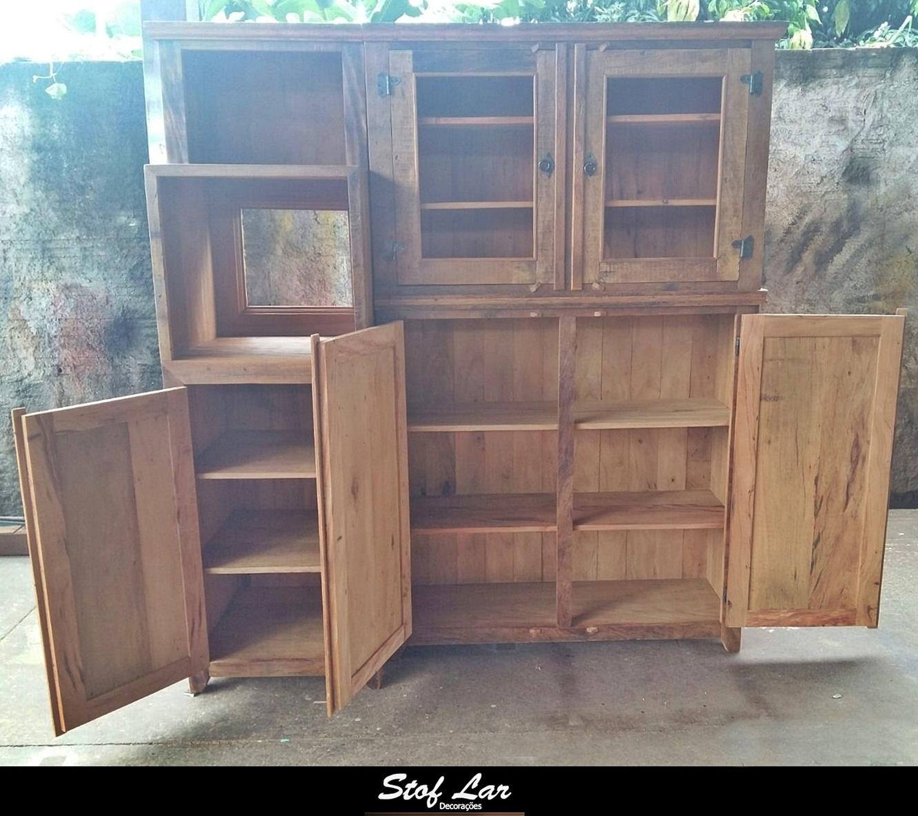 Stof lar decora es m veis em madeira de demoli o - Armarios de plastico para exteriores ...
