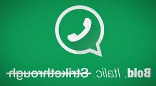 Cara Simpel Bikin Tulisan Unik di WhatsApp