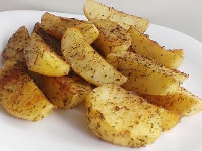 Aromatyczne ziemniaki z ziołami