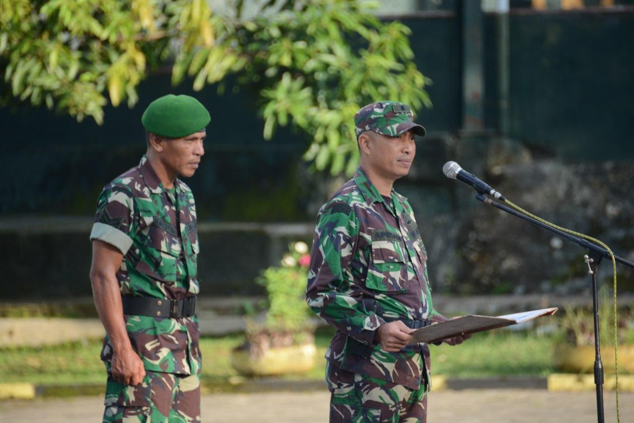 Personel Makorem dan Balak Rem 141/Tp Laksanakan Senam Senjata, Ini Tujuannya
