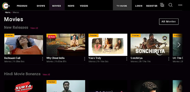 Now download and Watch FREE Hindi Movies from ZEE5