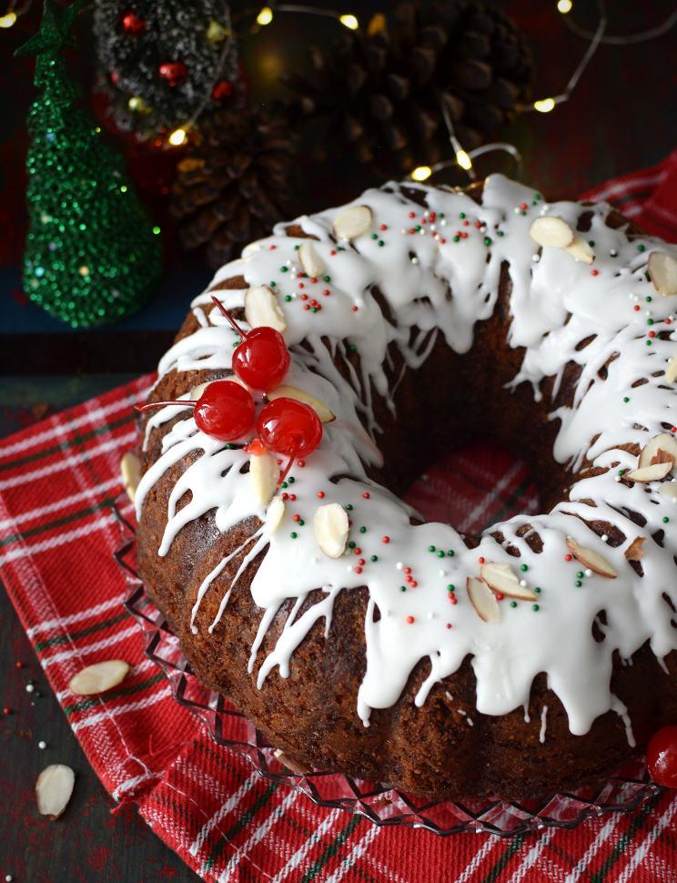 Torta negra navideña venezolana