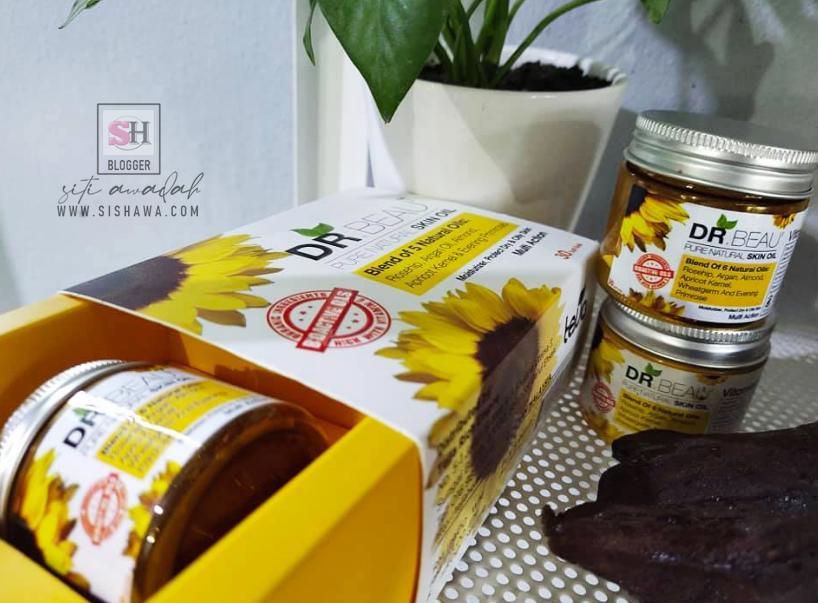DR.BEAU Pure Natural Skin Oil, Serum Terbaik