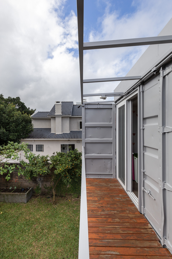Casa Conteiner RD - 350 sqm Two Story Shipping Container Home, Brazil 15