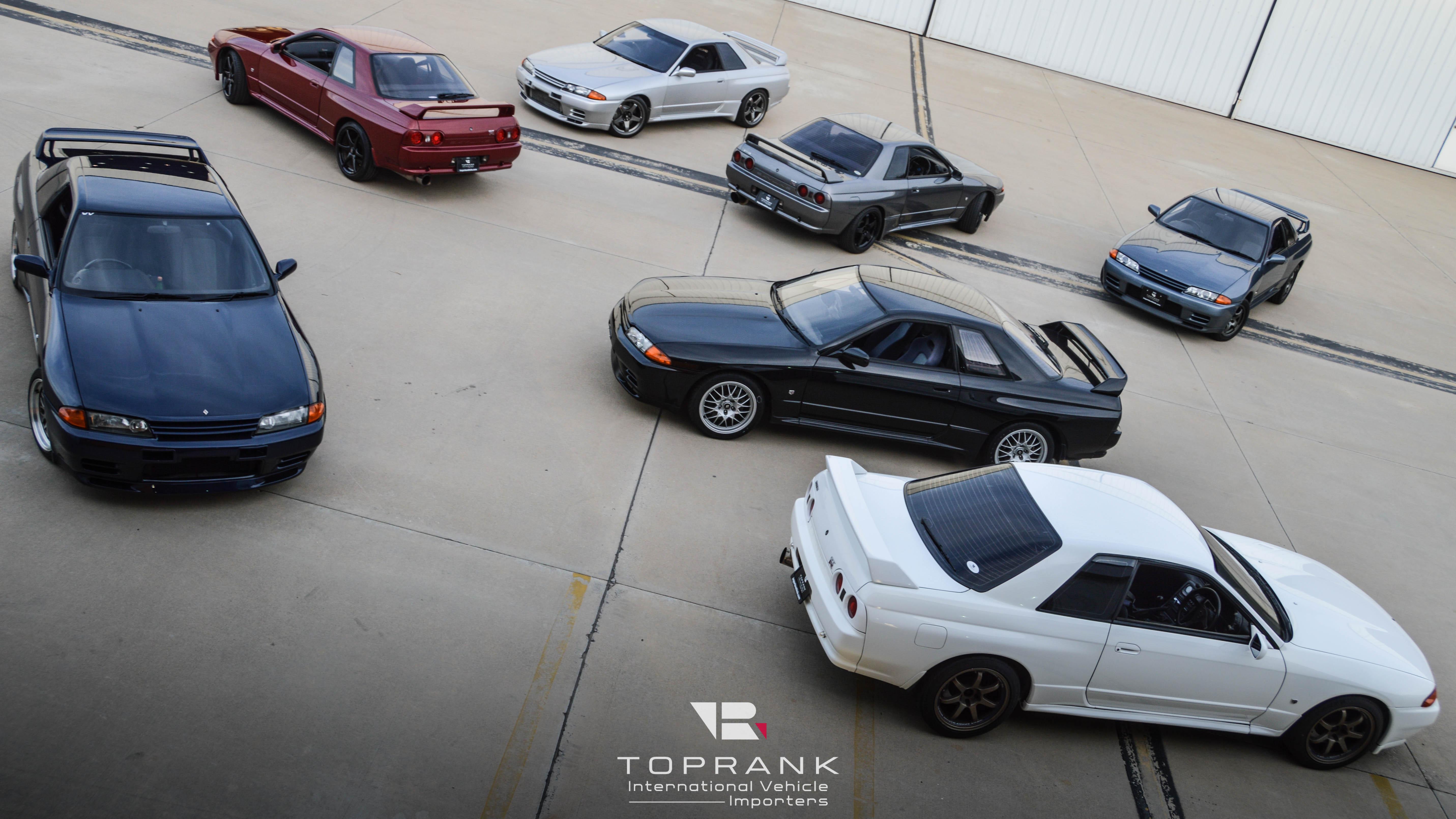 All Nissan Skyline GT-R R32 colors