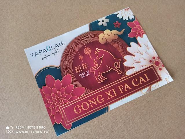 Tapaulah Chinese New Year Greetings Card