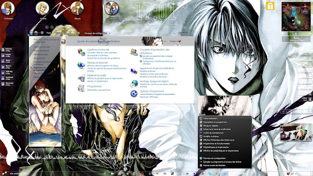 Angel Sanctuary Theme Win 7 by Andrea_37
