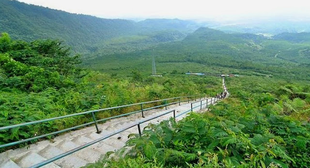 Wisata tasik gunung galungung