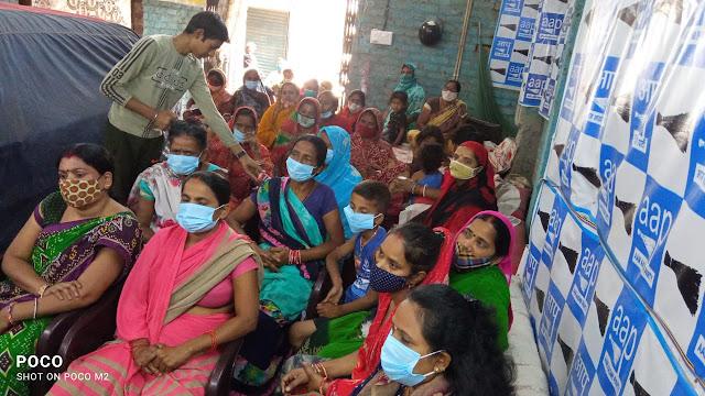 badli vidhaan sabha ward no-20 stree shakti mandal vistaar