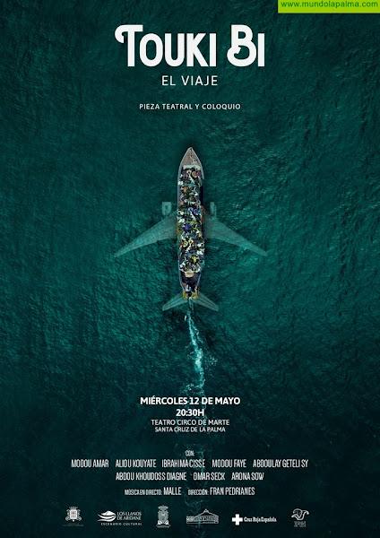 Santa Cruz de La Palma acoge 'Touki Bi, El viaje', una obra de teatro sobre migración