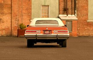 1975 Buick LeSabre Convertible Rear