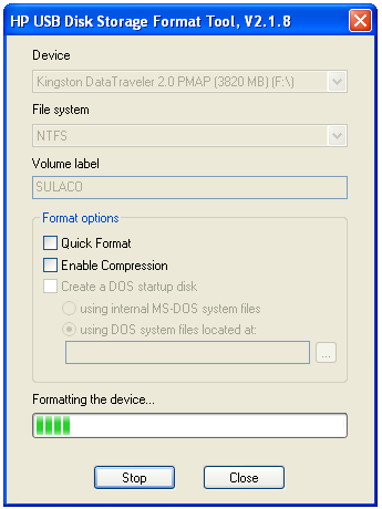 Full Version Software Download Zone: HP USB Disk Storage ...
