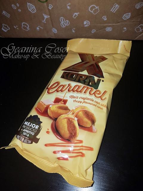 X-Korn maíz crujiente caramelo Caja Degustabox - Abril ´17