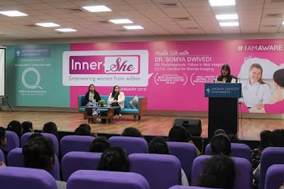 InnerShe, A health talk with Dr. Somya Dwivedi (MD Radiodiagnosis, Fellow of fetal imaging) at Jagran Lakecity University