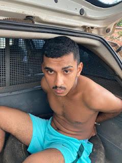 Acusado de balear PM durante tentativa de assalto em São Luís é preso na zona rural de Itapecuru-Mirim
