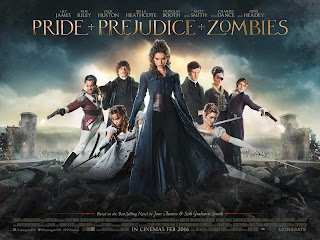 Download Film Pride and Prejudice and Zombies (2016) BluRay 720p Subtitle Indonesia