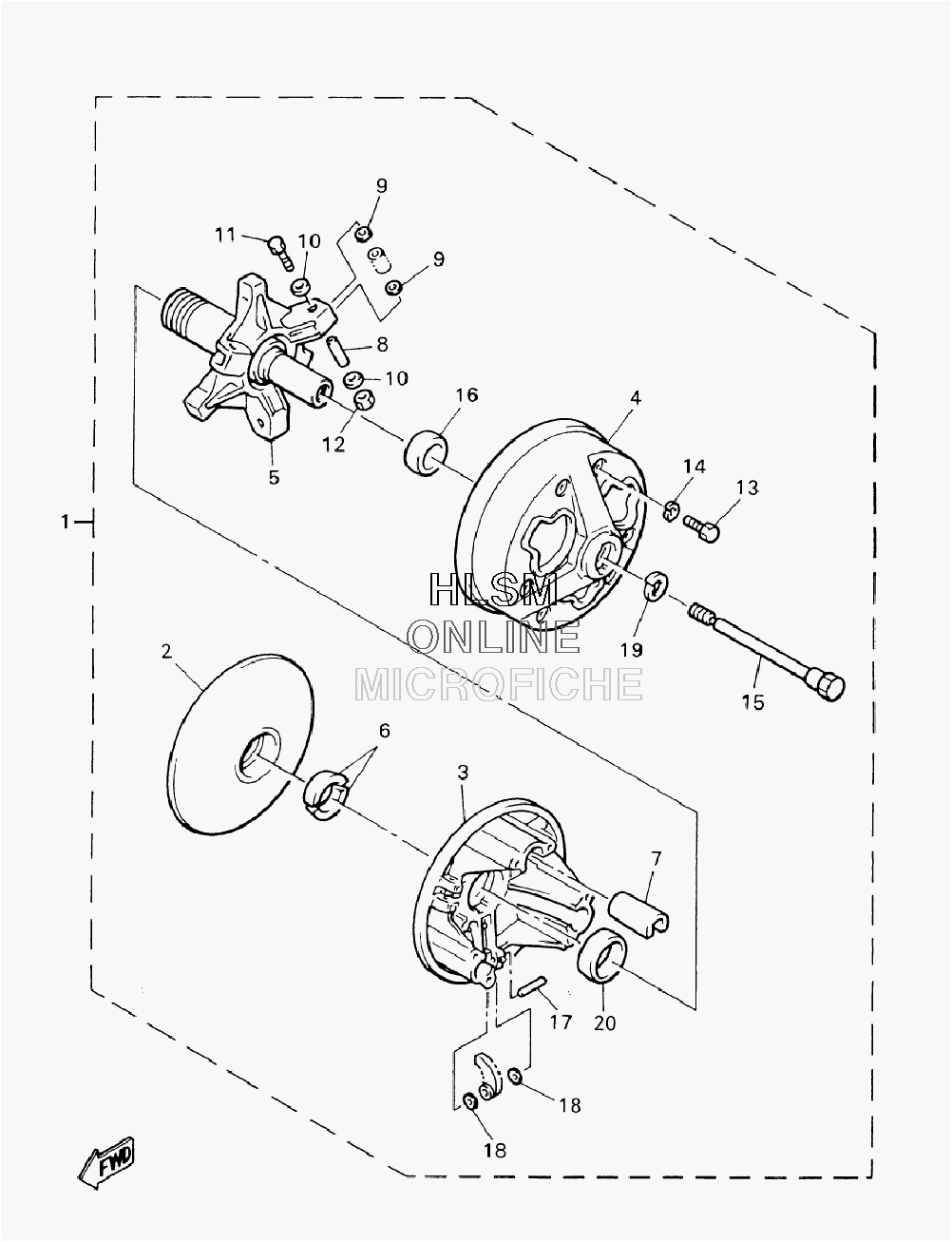 diagram besides yamaha snowmobile clutch on yamaha fz 150 schematics  [ 1002 x 1307 Pixel ]