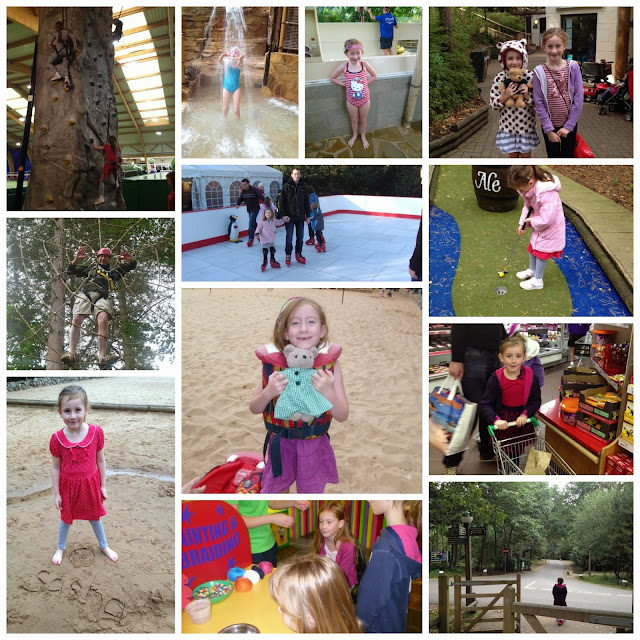 collage of center parcs
