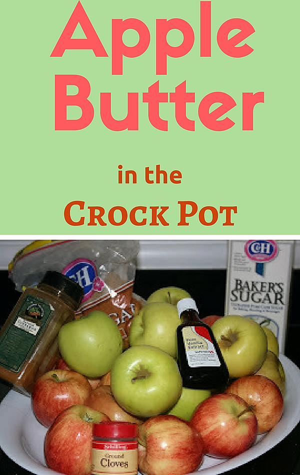 Crock Pot Apple Cake From Scratch