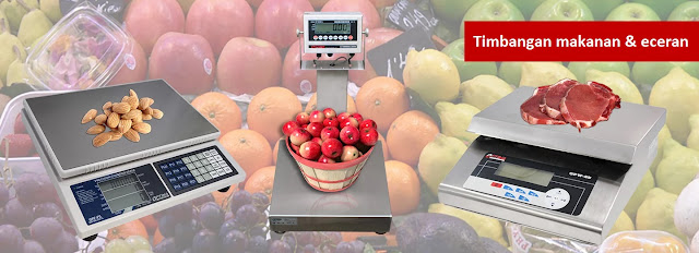 timbangan retail and food