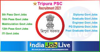 tripura-psc-recruitment-tpsc-indiajoblive.com