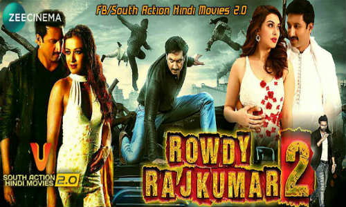 Rowdy Rajkumar 2 2018 HDTV 400MB Hindi Dubbed 480p Watch Online Full Movie Download bolly4u