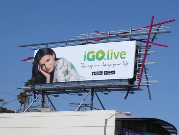 iGoLive app billboard