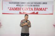 Polda Jambi Silaturrahmi Dengan Ormas dan OKP