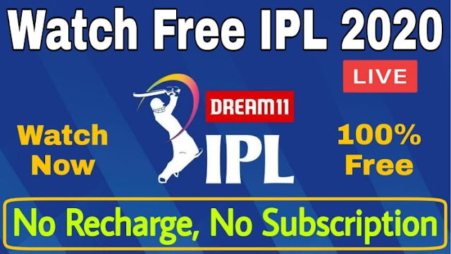 How to watch live IPL match 2020 free