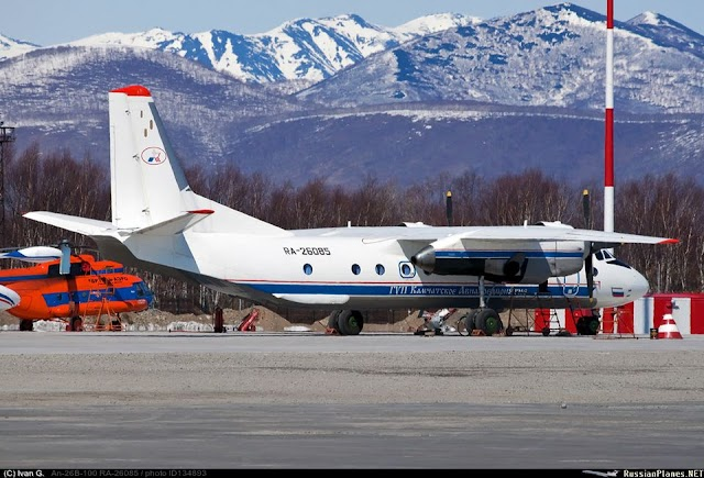 Plane with 28 people on board crashes in Russia's far east, rescue officials say