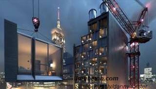 Konstruksi Modular Hotel AC Hotel NoMad di NYC (25 lantai)