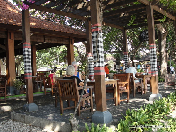 restaurant by Sanur Beach in Bali, Indonesia