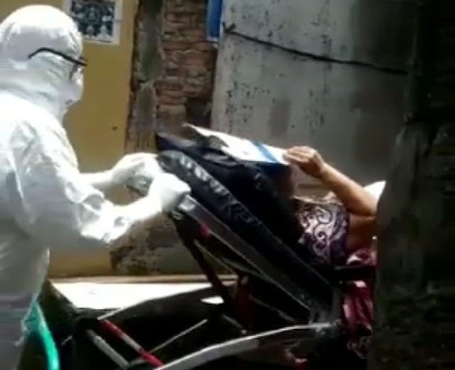 Video Evakuasi Pasien Corona di Gang Disebut Terjadi di Kota Cimahi, Simak Faktanya