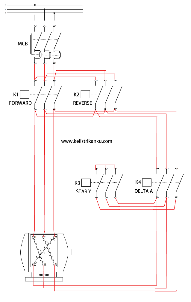 Membuat rangkaian kontrol motor listrik 3 fasa dua arah putaran star membuat rangkaian kontrol motor listrik 3 fasa dua arah putaran star delta ccuart Image collections