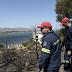 Υπό μερικό έλεγχο η πυρκαγιά στην Αγία Τριάδα Μεγάρων Ενισχύονται οι δυνάμεις στο Μαρκόπουλο