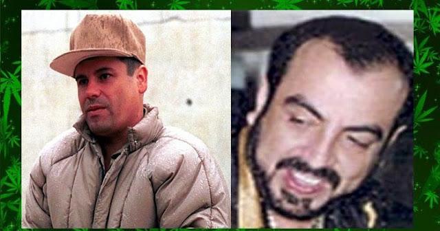 """El """"Chapo"""" Guzmán y sus primos los hermanos Beltran Leyva"""