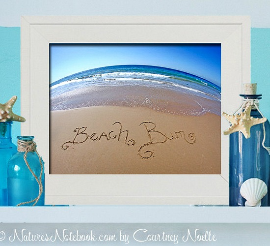 Writing in the Sand Photo Prints