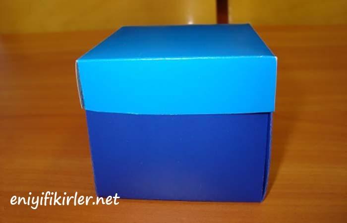 hediye kutusu yapımı ve süsleme