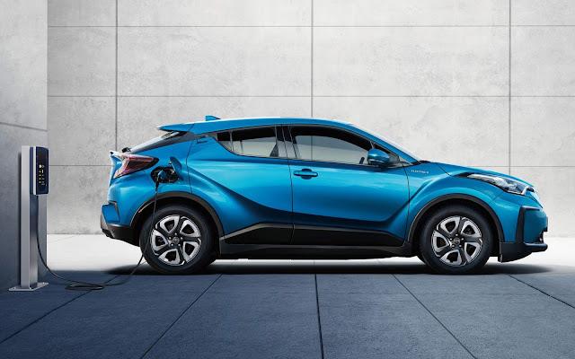 Toyota C-HR ganha versão 100% elétrica na China - fotos